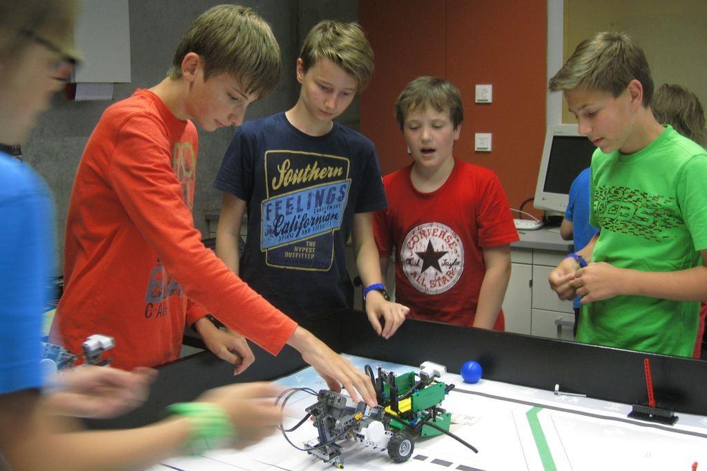 Aufstockung von Lego-Mindstorm