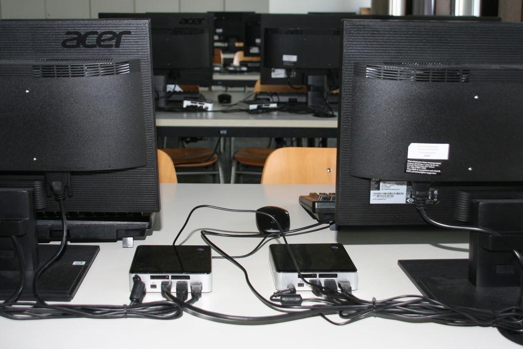 Computer für den Informatikraum